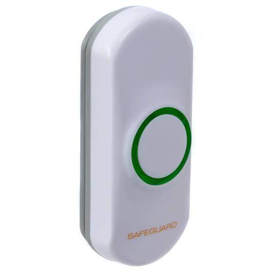 Safeguard Supply Wireless Doorbell Button Transmitter