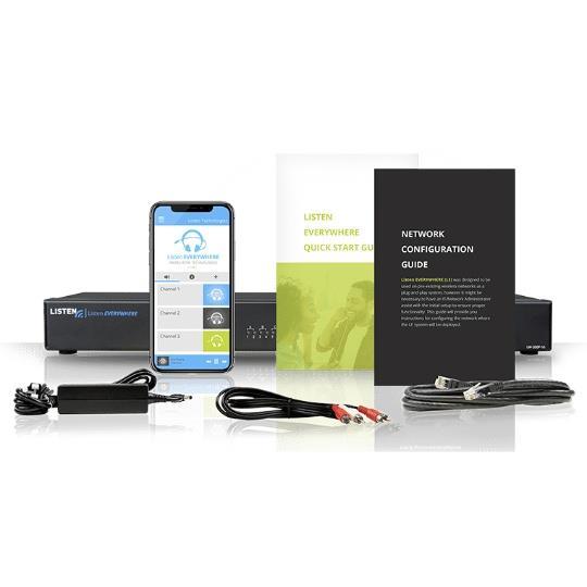 Listentech Listen EVERYWHERE Four Channel Server - Assistive Listening for Smart Phones