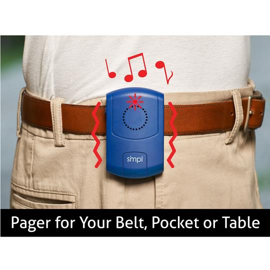 SMPL Additional Portable Alert Pager