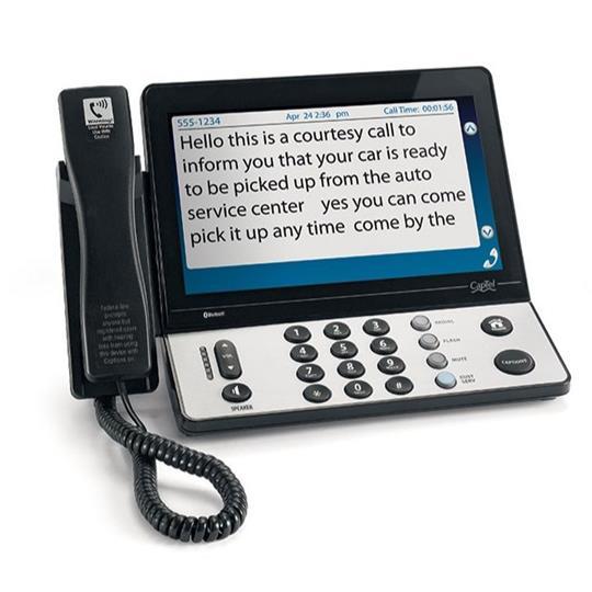 CapTel 2400iBT Captioned Phone