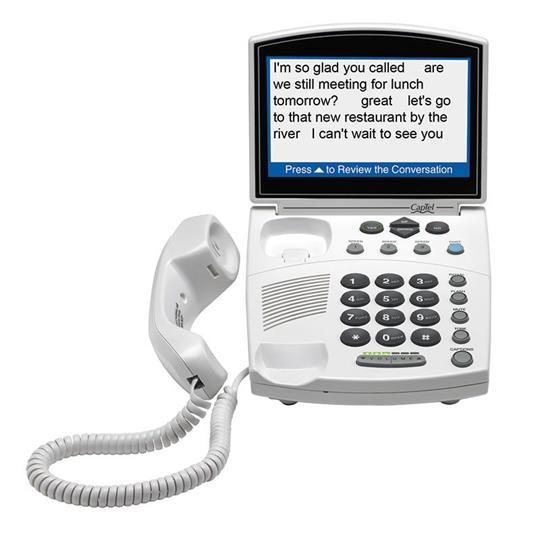 CapTel 840i Captioned Phone