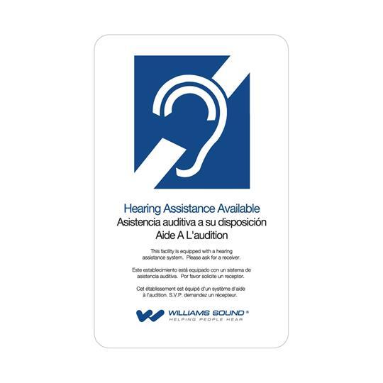 Williams Sound FM+ Dual FM & WiFi 12 Receiver Pkg | 557-12